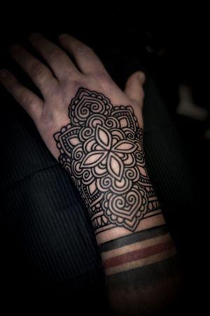 Ornamental hand
