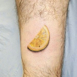 Slice of lemon tattoo #lemon #sliceof lemon #hull #hulltattoostudio