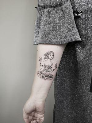 Magic ☀️ Bookings only via Instagram. 🇱🇹 Lithuania, Kaunas 📸 Instagram: @nikita.tattoo 📨 info.artistnikita@gmail.com 🧭 #tattoo #tattoos #tattoodesign #tattooartist #linework #lineworker #lineworktattoo #thinlinetattoo #fineline #dotwork #dotworktattoo #minimalism #minimalistic #minimalistictattoo #blackwork #blackworker #blackworktattoo #kaunas #lithuania #inked #inkedgirls #dolltattoo #manequintattoo
