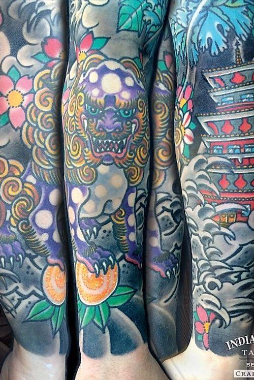 Japanese half sleeve