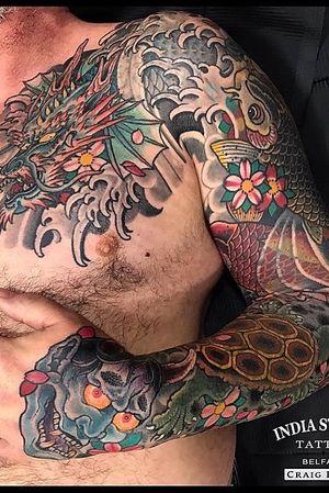Japanese sleeve