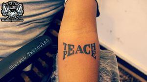 """Teach Peace Tattoo"" ""TATTOO GALLERY"" Bharath Tattooist #8095255505 ""Get Inked or Die Naked'' #tattoo #peace #peacetattoo #boyhandtattoo #teachpeacetattoo #peacetattoodesigns #tat #tattooedboys #tattooedgirls #tattoopassion #tattooedgiros  #tat #bangloretattoo #tattootrend #tattoobanglore #tattoolove #tattoomodels #tattooedmodels #coveruptatoo #tattootrends #tattootreand #tattoolife #tattooartist #tattooist #indiantattoo #karnatakatattooartist #davangere #davangeresmartcity #karnataka #india"