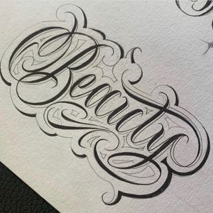 Looking to tattoo this and lettering in this style dm for inquiries