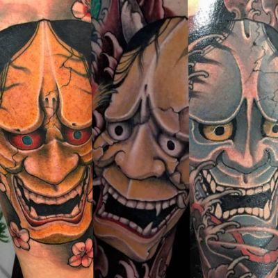#masks #tattoo #japan #tokyotattoo