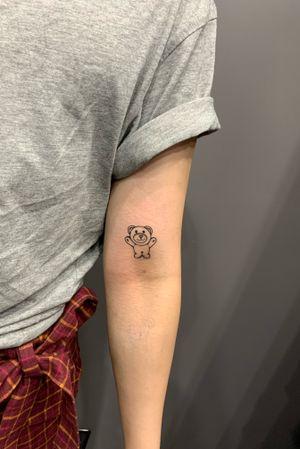 Tiny ready tattoo