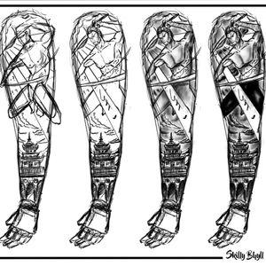 ¿Te interesa esta pieza?  Contactame, está en súper oferta  #TattooStudio #SkillyBhyll #TattooVenezuela #TattoCaracas #blackandgrey #DiseñoUnico #Art  #Caracas #TattooShop #tatuadorescaracas #tattoolover #picoftheday