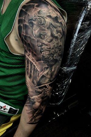 #blackandgrey #sleeve #ink #tattoo #alanramirez