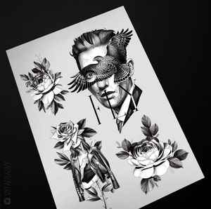 #tattoodesign #tattooflash #tattoodo #tattoos #blackwork #tattooidea #detailed #detail #singleneedle #floral #flower #rose #abstrct #new #contemporary #portrait #blackansgrey #blackwork #dotwork