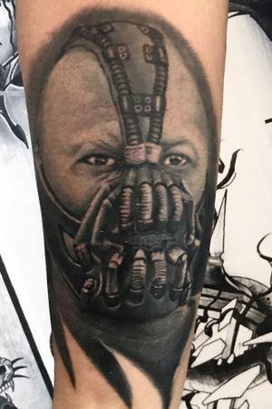 Bane custom tattoo