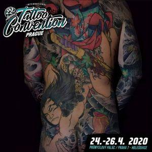 #prague #tattooconvention #japanesetattoo