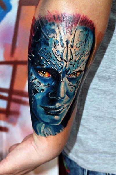 #xmen #tattoooftheday #realism #mutants #ink