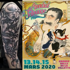 I'll be attending the next Mondial du Tatouage booking opens -my mail is info@morg.it  please write in the object'Mondial du Tatouage' thank you