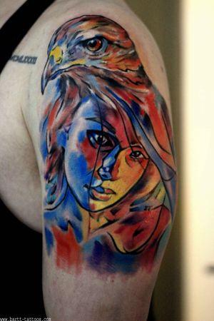 Tattoo by @bartt .                       #colortattoo #tattoolondon #londonink #londontattooartist