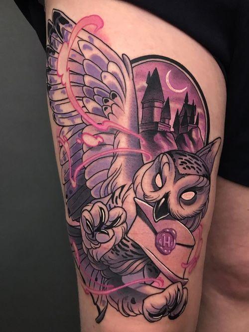 Hedwig by artist Jack
