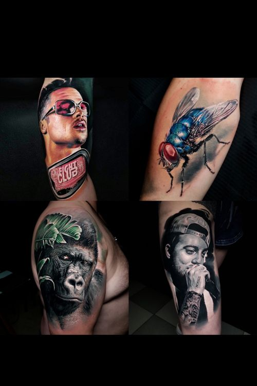Some work from us, era29tattoo , Grenzach / basel