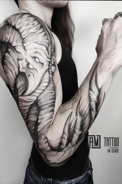 #Kraken #sleeve