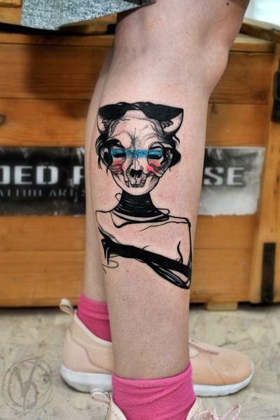 #tattoo #tatt #tattooed #victoriadenske #tattooart #tattooedukraine #kievtattoo #kyivtattoo #ink #inked #tattoodo #wctattoos #bodyart #watercolortattoo #colortattoo #tattoodo #beautiful #instatattoo #linework #inkedup #tattooartist #blacktattoo #sketchtattoo #cat #catwoman #cattattoo #woman #skull #skulltattoo