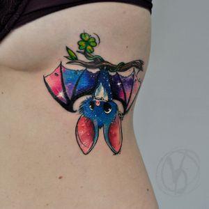 #tattoo #tatt #tattooed #victoriadenske #tattooart #tattooedukraine #kievtattoo #kyivtattoo #ink #inked #tattoodo #wctattoos #bodyart #watercolortattoo #colortattoo #tattoodo #beautiful #instatattoo #linework #inkedup #tattooartist #blacktattoo #sketchtattoo #graphictattoo #watercolortattoo #lines #space #bat #cute #baby #clover #cartoon #galaxy
