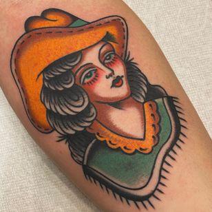 Traditional tattoo by nicholasgtattooer