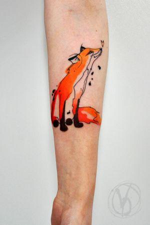 #tattoo #tatt #tattooed #victoriadenske #tattooart #tattooedukraine #kievtattoo #kyivtattoo #ink #inked #tattoodo #wctattoos #bodyart #watercolortattoo #colortattoo #tattoodo #beautiful #instatattoo #linework #inkedup #tattooartist #blacktattoo #sketchtattoo #cute #fox #foxtattoo #red