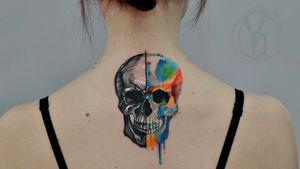 #tattoo #tatt #tattooed #victoriadenske #tattooart #tattooedukraine #kievtattoo #kyivtattoo #ink #inked #tattoodo #wctattoos #bodyart #watercolortattoo #colortattoo #tattoodo #beautiful #instatattoo #linework #inkedup #tattooartist #blacktattoo #sketchtattoo #graphictattoo #watercolortattoo #lines #skull #splatter #splashes #skulltattoo