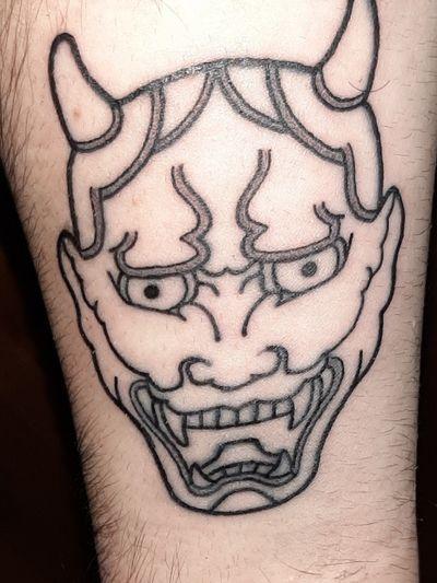 Oni demon mask #onitattoo #oni #japanese #japan