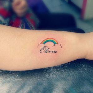 #olivia #arcoiris #rainbow
