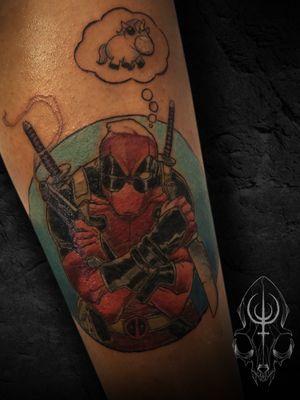 Color Deadpool