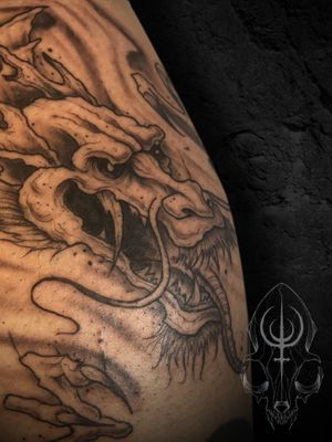 Japanese dragon with my stylistic twist