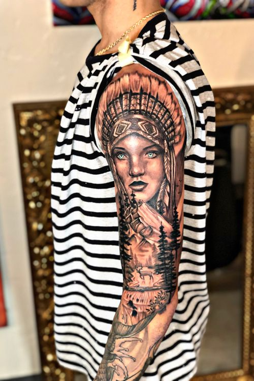 India tattoo