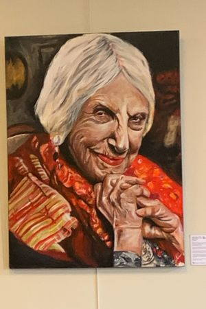 Beatrice Wood for a local project called SheEnlightens. Check out installations at Tacoma Art Museaum and Tacoma YWCA