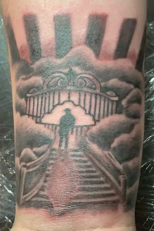 Stairs to heavens gate.