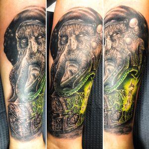 Tattoo by KD💉💉💉 in @bloodlinezink #kaistattoocuba, #tattoos, #tattoo, #ink, #intenze, #art, #inked, #criticalsupply, #fkirons, #darklab, #inkjecta, #bishop, #inkeeze, #intenzeink, #bishoprotatory..................................................……………................................................…..........Follow my page➡️ https://www.facebook.com/KDtattCompany