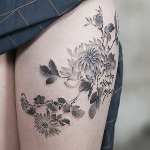 Oriental painting flower :-)