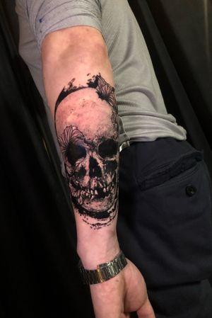 Skull on Boris