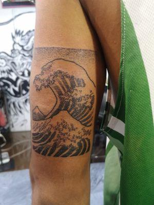 #wavetattoo #wave #tattootokyo #kanagawa #kanagawawave