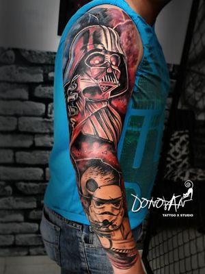 Terminando el año con este hermoso proyecto ❌Darth Vader & Stormtrooper❌ ⭐⚔Star Wars ⭐⚔ #DonovanTattoos #tatuajestunja #tunjatattoo #colortattoo #starwars #tattoostarwars INVITO A SEGUIR MI TRABAJO 😃😊 INSTAGRAM 🔥 http://www.instagram.com/donovan_tattoos FACEBOOK 💙 https://www.facebook.com/DONOVANTattooStudio/ PAGINA WEB OFICIAL 🎈 http://donovantattoo.com/