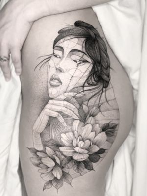 Geisha, agenda abierta para Ciudad de México 🇲🇽 #tattoodo #ink #geisha #cdmx