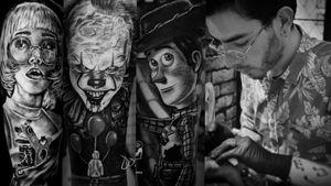 #sombras #DonovanTattoos #tatuajestunja #tunjatatto #realismosombrastattoo #tunja  #tatuajes #tatuajesparahombre #tatuajesgrandes