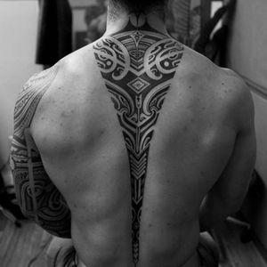 #polynesiantattoo #tribal