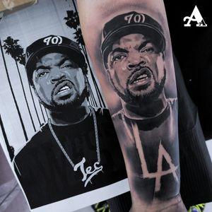 #tattoo #tattoosnob #colorful #cuphead #inked #tattooart #music #ink #sketch #cute #illustration #artwork #flash #tattoooftheday #art #tatuajes #blackandgrey #tattooworkers #sketchtattoo #realism #realismtattoo #handmade #design #realismotattoo #tattoosocial #tattoodo #icecube #nwa #compton #westside