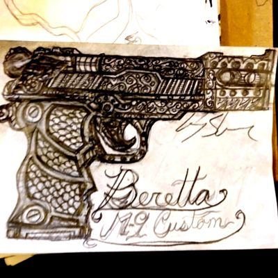 #gun #pistol #beretta #firearm