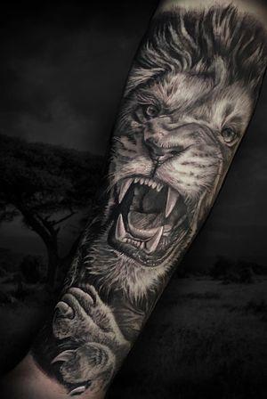 Lion #liontattoo