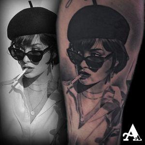 @cheyenne_tattooequipment  @tattoodo @kwadron @dynamiccolor  @vegantattoo  @ink.on.sky @icecube  @nwa  @parko.2.0 💉💉💉 #tattoo #tattoosnob #colorful #cuphead #inked #tattooart #music #ink #sketch #cute #illustration #artwork #flash #tattoooftheday #art #tatuajes #blackandgrey #tattooworkers #sketchtattoo #realism #realismtattoo #handmade #design #realismotattoo #tattoosocial #tattoodo #icecube #nwa #compton #westside