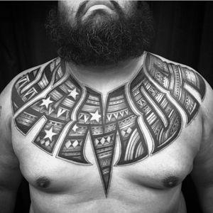 #polynesiantattoo #polynesian #tribal #tribaltattoo #samoa #samoantattoo