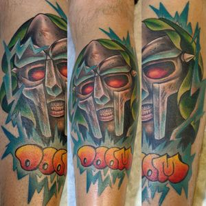 MF DOOM I finished up on a calf the other day. Super fun! Who is your favorite rapper?  @metamorphosistattoosideshow @tattoometamorphosis . . . *I own no right to the music* Music owned by MF DOOM and the recording studios who produced it #rapper #rap #rappertattoo #rapmusic #drdoom #mfdoomtattoo #mfdoom #drdoomtattoo #comictattoo #doom #bouldercolorado #lyonscolorado #lovelandcolorado #longmonttattoo #longmontcoloradotattoo #longmontcolorado #bouldertattooartist #coloradoart #coloradolife #coloradotattooartist #colorado