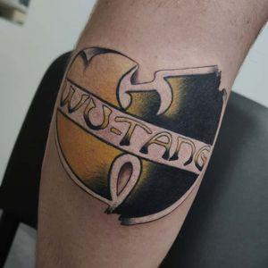 Wu-Tang logo sticker by me 🔥 #tondriktattoo #ucernekotvy #savethetattooquality #tattoodo #wutang #WuTangClan