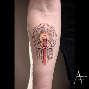 ... . For personal designs and bookings; alperfiratli@gmail.com . . . . . #tattoo #tattooidea #tattooart #customtattoo #customtattoos #customdesign #tattoodesign #darkart #darkartists #colortattoo #horrorart #horrortattoo #inked #tattoosformen #tattooer #tattooist #tattooartist #tattoostudio #bayareatattooartist #oakland #sanfrancisco #berkeley #bayareaart #bayareaartist #dark #darkaesthetic #religioustattoos