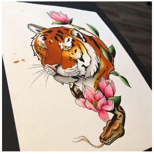 Tattoo by Ferry Road Tattoo Studio