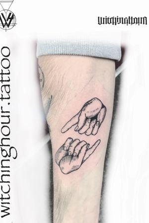 Etch tattoo